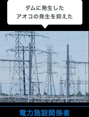 電力施設関係者